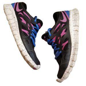Nike Free Run 2 EXT Running Shoes   Black / Pink Women's Runners 536746-008